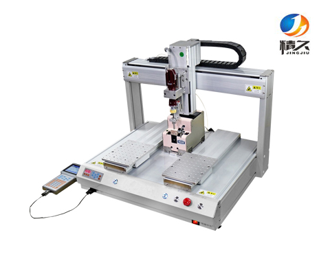 Double Y lock screw machine