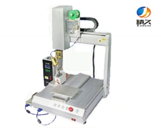 Three-axis automatic soldering machine