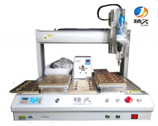 Double Y screw machine
